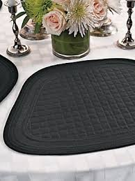 Table Place Mats Round Table Placemats Wedge Shape Table Mats Solutions
