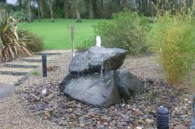 Rock Water Features For The Garden Trickle Water Feature For Collection