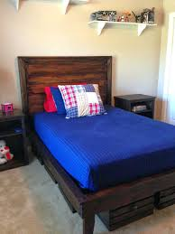 Boys Bed Frame Headboard Best Size Beds Ideas On Next With