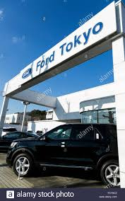ford vehicles ford vehicles on sale at a car dealership in tokyo japan on