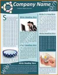 free newsletter templates for word sample letter of proposal for
