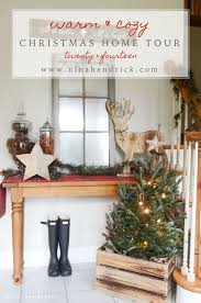 classic christmas tablescape hendrick design co christmas home tour 2014 rustic cozy