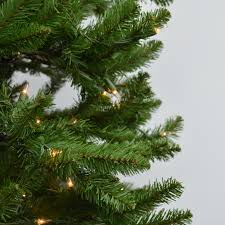 4 5 kingswood fir pencil artificial tree clear lights