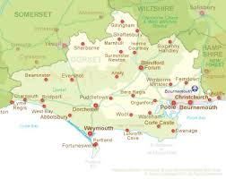 map uk villages villages and towns in dorset propertyindorset