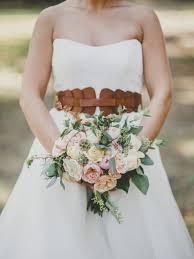 rustic luxe brown leather wedding inspiration