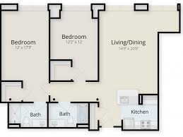 two bed two bath floor plans 2 bed 2 bath apartment in ludlow ma residences at mill 10