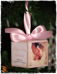 baby s ornament modge podge a block will