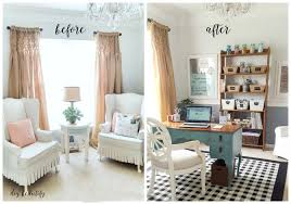 dining room to office office and craft space reveal diy beautify