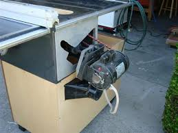 convert circular saw to table saw turning a contractor saw into a cabinet saw by pariswoodworking