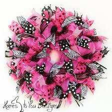 geo mesh wreath 25 beste ideeën zebra krans op deco kransen