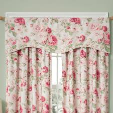 english floral tea rose room darkening window treatment