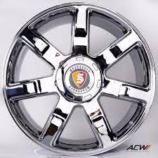 cheap cadillac escalade anchi alloy wheels rims for cadillac escalade 24 inch color chrome