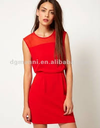 clothing manufacturers overseas cheap red party dresses for women