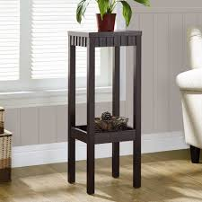 corner table design pictures features black wooden frames and