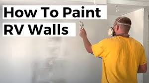 what type of paint to use on rv cabinets how to paint rv walls a helpful guide with pictures