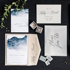 wedding invitations calgary beautiful mountain themed wedding invitations contemporary