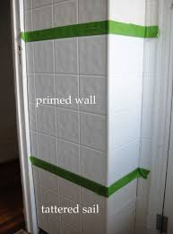 Painting Tiles In Bathroom Bathroom Mini Renovation Part 4 Painting Tile Board So Pretty