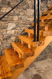choosing heart pine for stair treads cool home interior design