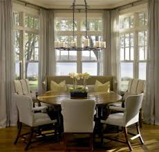 Bay Window Seat Kitchen Table by Bay Window Table Home Design Ideas