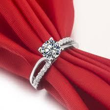 wedding ring test fantastic lovely design 1ct certificate moissanite women ring test
