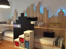 Two Bunk Beds Bunk Beds For 3 In Ikea Kura City Bunk Beds Ikea Kura