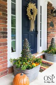 Fall Decorating Ideas For Front Porch - fall porch decor ideas on sutton place