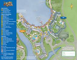 Blizzard Beach Map Disney U0027s Boardwalk Inn Walt Disney World Resort Wdw Kingdom