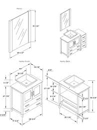 bathroom vanity dimensions commercial height dimensions for ada