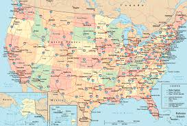 road map usa united states interstate highway map