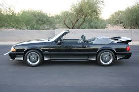 Black Fox Body Mustang 1988 Convertible 88 0516 Offered On Ebay Saleen Owners And