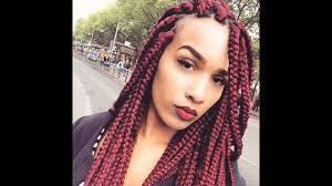 big braids hairstyles big box braids hairstyles youtube