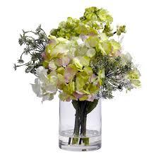 Silk Flower Arrangements Furniture Hydrangea Silk Flower Artificial Flower Arrangements