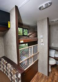Bunk Beds In Passport Ultra Lite Trailer RV Remodel Pinterest - Travel trailer with bunk beds