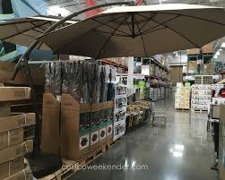 Patio Umbrella 11 Ft 11 Ft Cantilever Patio Umbrella Costco Chagne Crayons