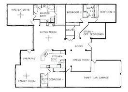 single story house plan house floor plans single story 5 bedroom single story house plans
