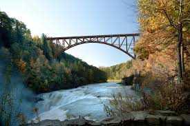 Letchworth State Park Map by Norfolk Southern And New York State Begin Replacement Of Key