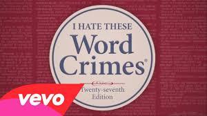 "Word Crimes (""怪人奥尔""扬科维奇)"