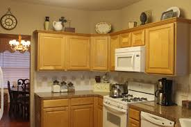 wonderful top of kitchen cabinet ideas budget cabinets colors