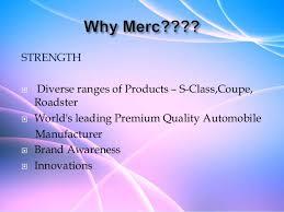 mercedes market mercedes presentation