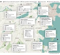 Map Of Boston Harbor by A New Map Of Boston For 2024 Olympics And Beyond The Boston Globe