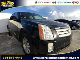2008 cadillac srx for sale used 2008 cadillac srx for sale serving ft lauderdale sku 2751424b