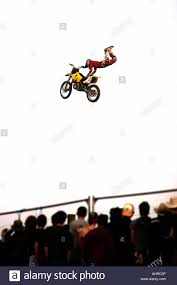 Crowds Watching Freestyle Motocross Sponsored By Red Bull Download