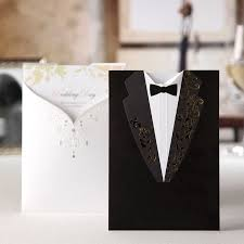 wedding card to groom лазерная резка свадебные приглашения для печати элегантные