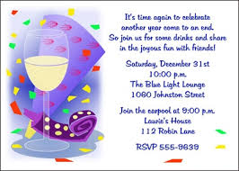 new year invitation card personalize your on party invites for new year s celebration with
