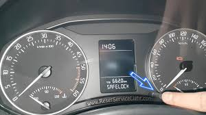 lexus oil maintenance light reset service light skoda octavia mk2 facelift 2009 2013 u2013 reset