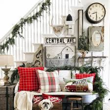 Christmas Decoration Ideas For Room by Farmhouse Christmas Decor Ideas Involvery Community Blog