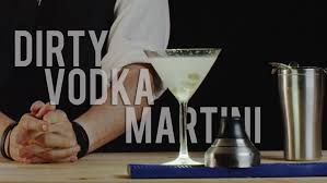 vodka martini with olives how to make the dirty vodka martini best drink recipes youtube