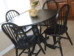 kitchen black kitchen table and 50 awesome black wooden kitchen