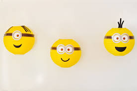 halloween paper lanterns minions party diy minions paper lanterns make life lovely