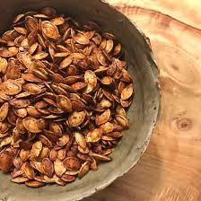 Toasting Pumpkin Seeds Cinnamon Sugar by Chrissy Teigen Shares Her Roasted Pumpkin Seeds Recipe